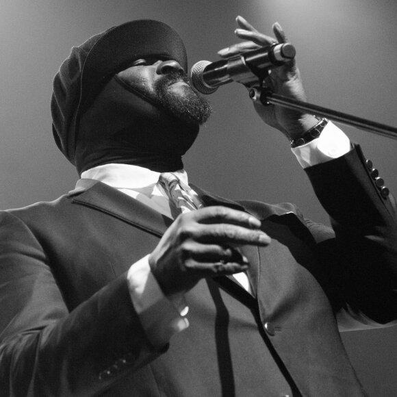 Vokalistas Gregory Porter