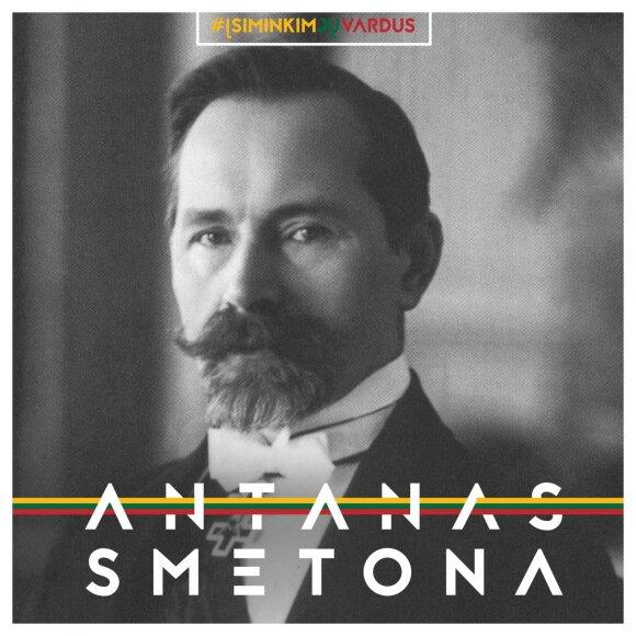 """Antanas Smetona / Projektas """"Misija Sibiras"""""""