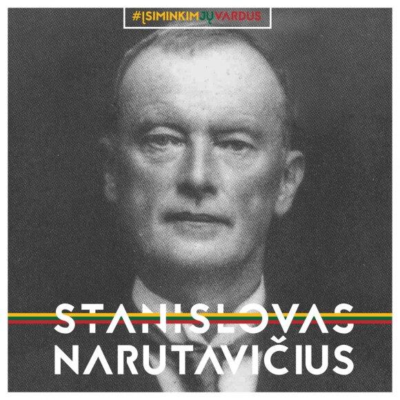 """Stanislavas Narutavičius / projektas """"Misija Sibiras"""""""