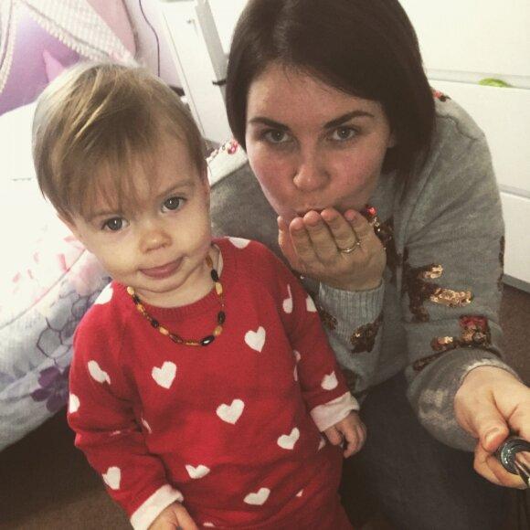 Palapinę dukrytei pasiuvusi Gabrielė atrado mėgstamą veiklą