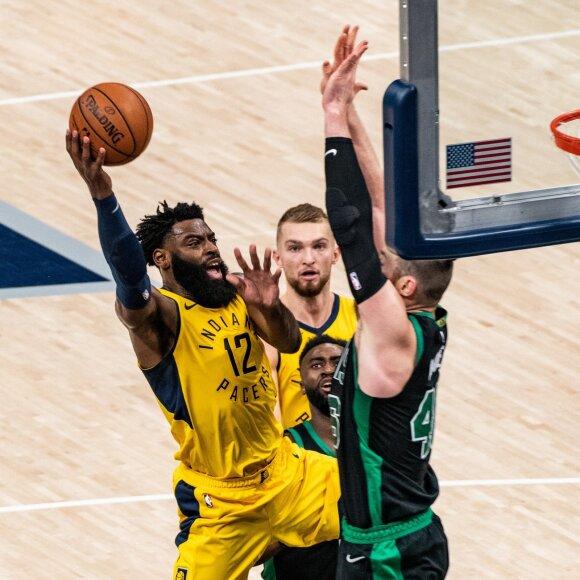 """Sabonio ir """"Pacers"""" priešakyje – ir LeBrono vestus """"Cavaliers"""" pranokstanti bostonietiška užduotis"""