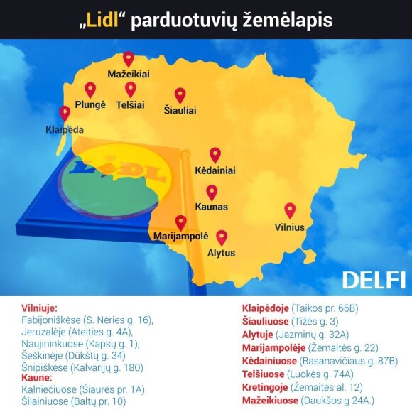 Zobacz, czy będziesz miał blisko do Lidla