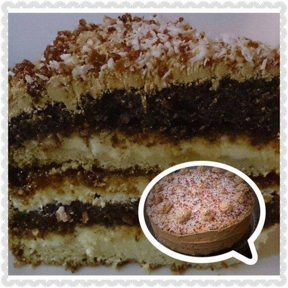 Patiks visiems: griliažinis tortas su <em>Rududu</em>