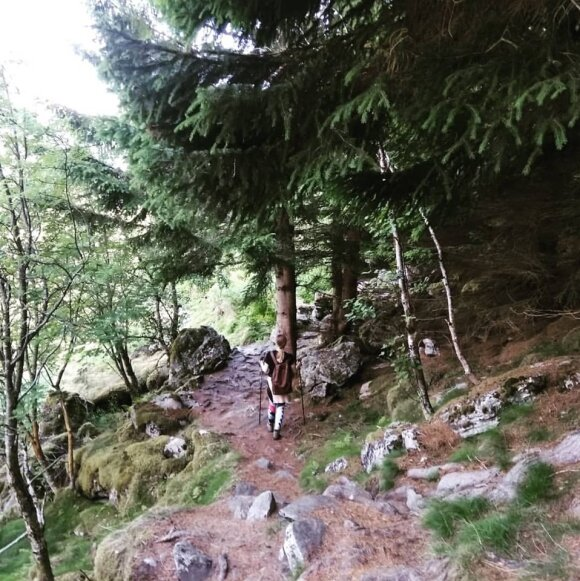 Milda ir Vilius Norvegijoje