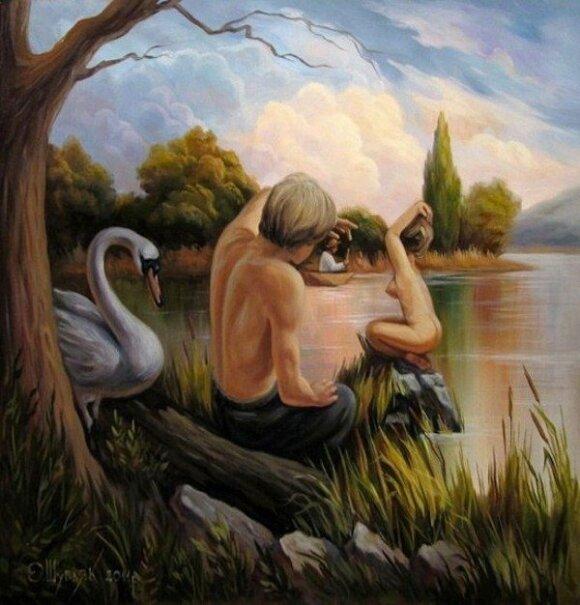 Olego Šupliako paveikslas