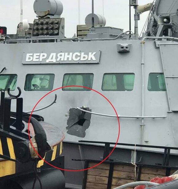 Ukrainos saugumas: mūsų laivus atakavo naikintuvai