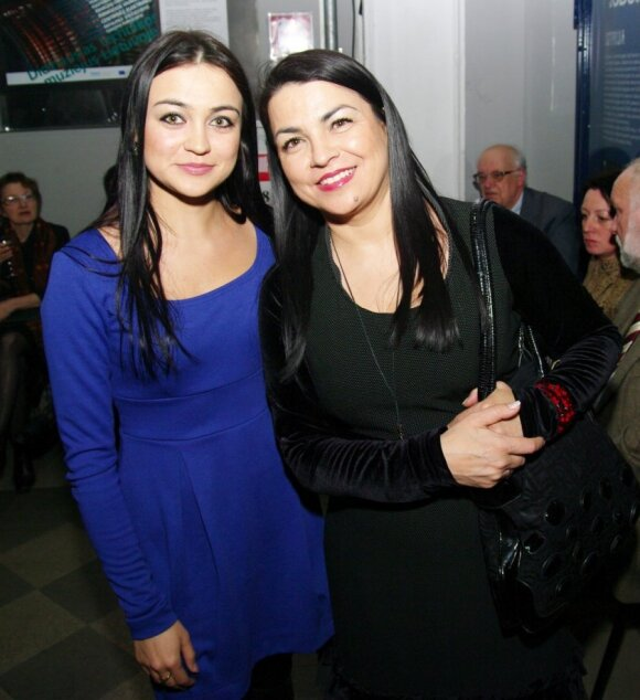 Monika Sakalauskaitė su mama Giulija Baužiene