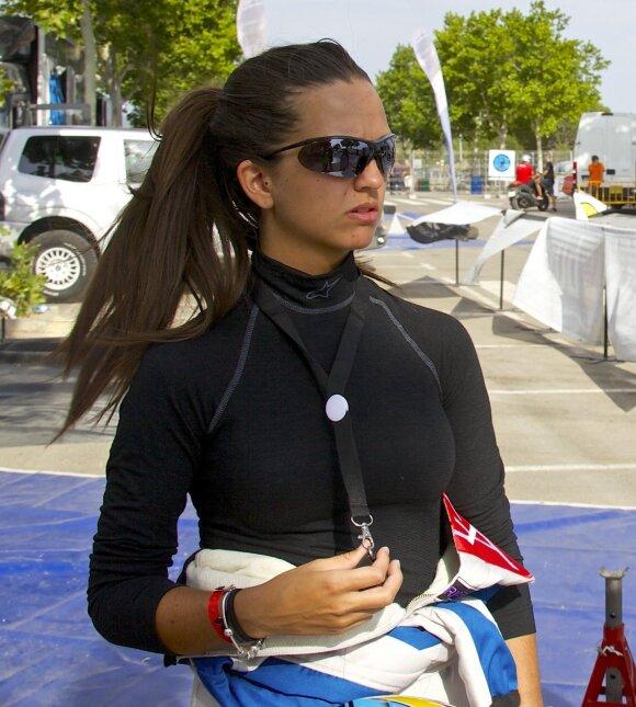 Gražuolė iš Ispanijos Cristina Gutierrez Herrero bus tiesioginė V. Žalos konkurentė