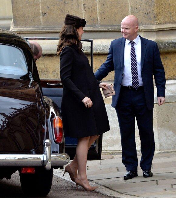 Netrukus gimdysianti Kate Middleton pasielgė netradiciškai