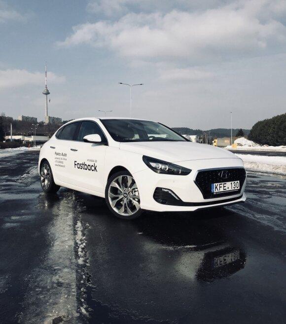 """Hyundai i30 Fastback"" bandymas"