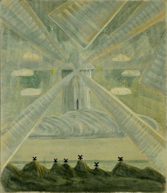 Mikalojus Konstantinas Čiurlionis, Andante (Sonata II), 1907, Druskininkai
