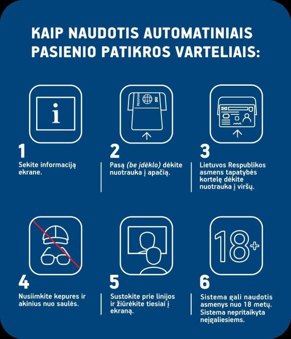 Vilniaus oro uoste – išmani pasienio kontrolė, kurią galima atlikti vos per minutę
