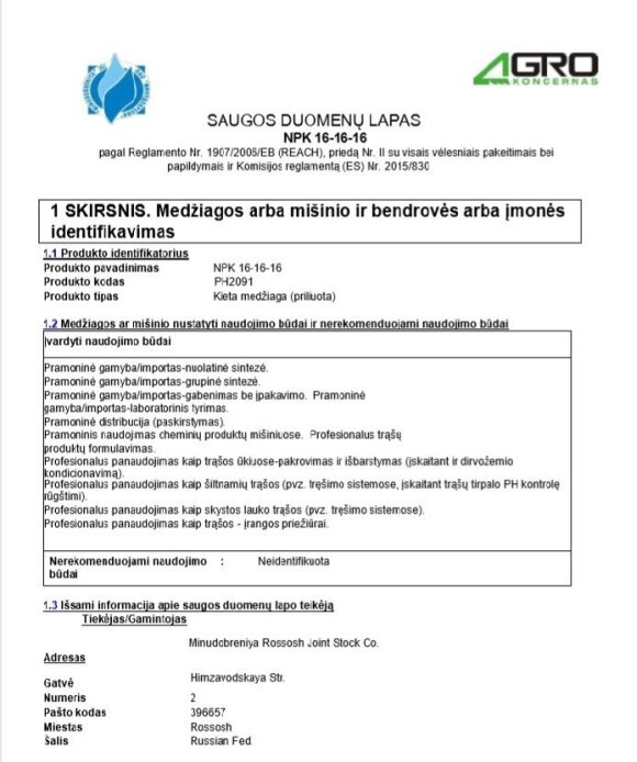 LRT tyrimas. Karbauskio verslas prekiauja trąšomis, kurias gamina Putino draugo fabrikas