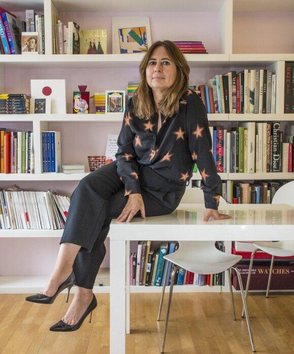 "Buvusi britiško ""Vogue"" redaktorė Alexandra Shulman"