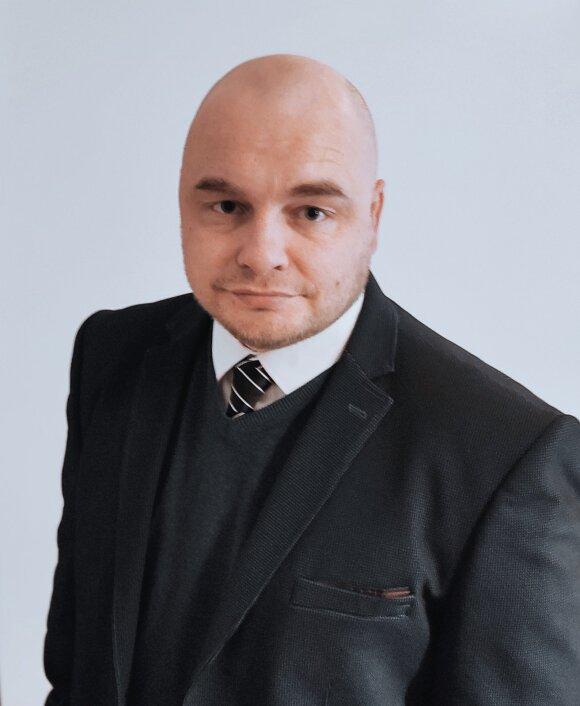 """""""Merxu"""" rinkos vadovas Lietuvoje Nerijus Grybė"""