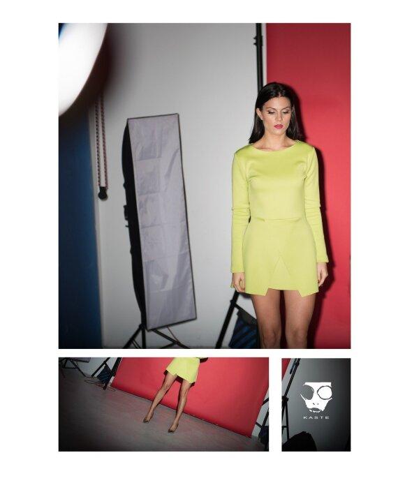 Jaunos dizainerės suknelės laukia pavasario