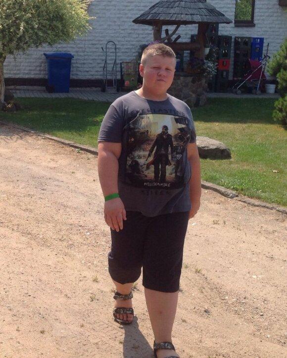 Pavyzdys visiems: užsispyręs dvylikametis per pusmetį atsikratė 34 kilogramų antsvorio