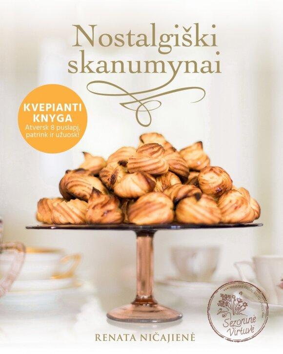 """R. Ničajienės knyga """"Nostalgiški skanumynai"""""""