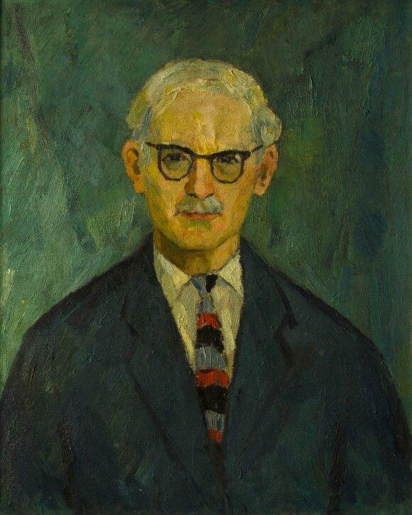 Jonas Švažas. Profesoriaus Kairiūkščio portretas (1962)