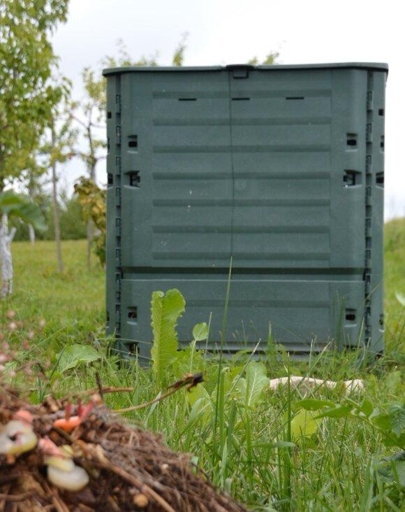 Tokius konteinerius naudoja individualių namų gyventojai