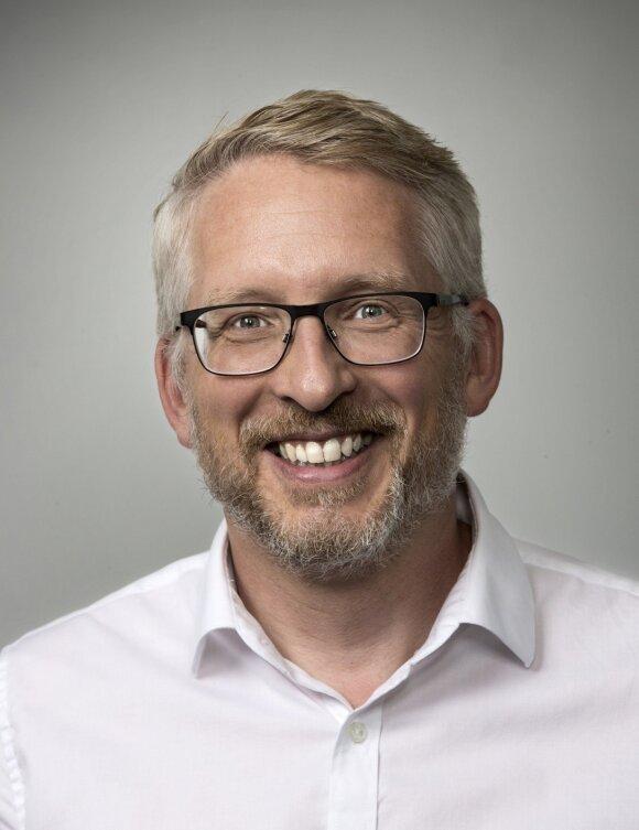 """""""Volvo Trucks"""" aplinkosaugos ir inovacijų direktorius Larsas Mårtenssonas"""