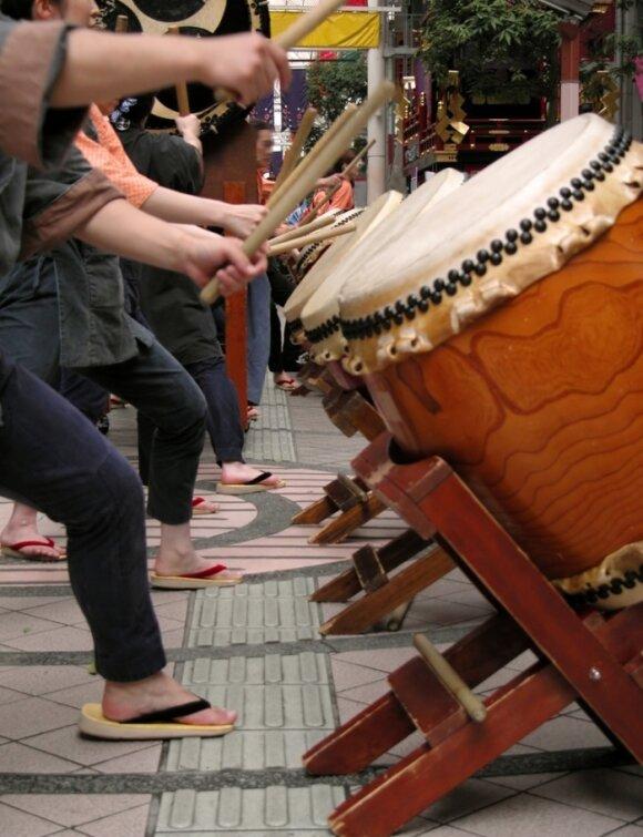 Japoniški būgnai