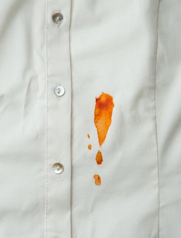 Pomidorų padažo dėmė