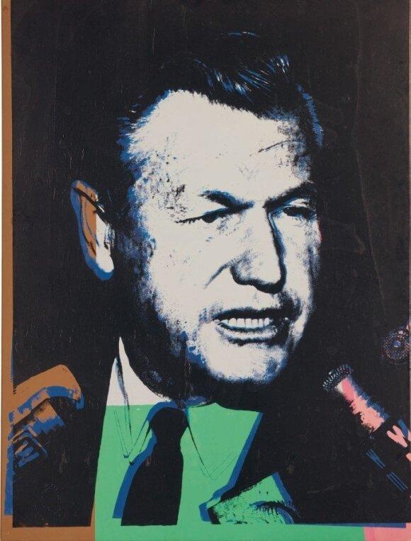 Andy Warholo 1967 m. sukurtas Nelsono Rockefellerio portretas