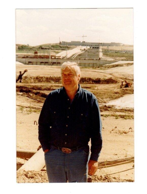 Dar nedirba Kruonio hidroakumuliacinė elektrinė(KHE) – 1991 m. rugpjūčio 30 d.