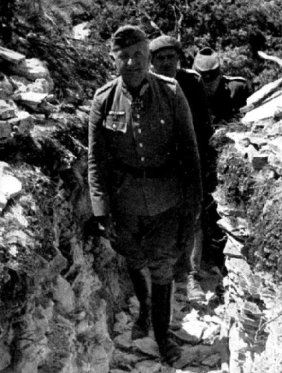 E. von Mansteinas fronto priešakinėse pozicijose
