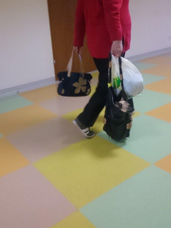 Pacientės poelgis poliklinikoje atėmė žadą