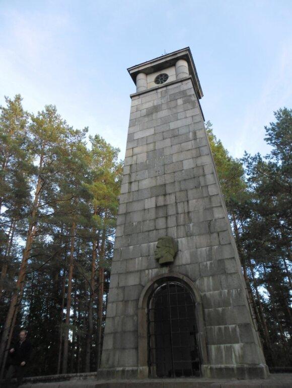 Laimės žiburys, J.Biliūno kapas