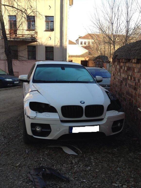 Editos Daniūtės automobilis