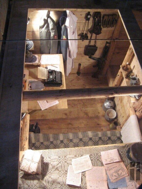 Bunkerio Minaičiuose rekonstrukcija, Okupacijų ir laisvės kovų muziejaus nuotr.