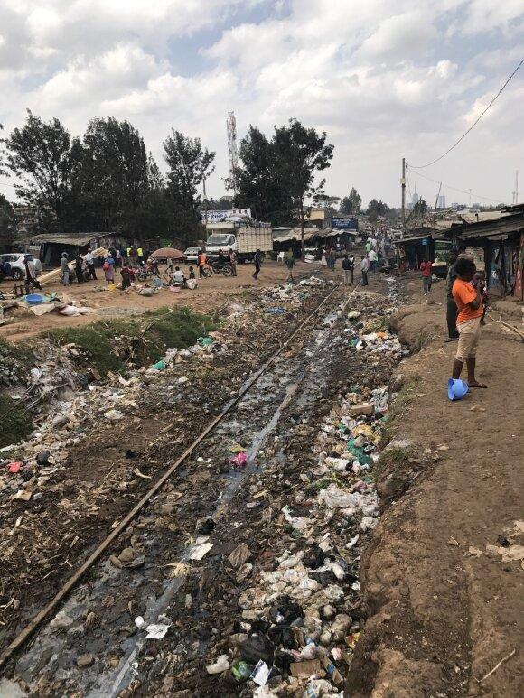 Lietuvaitės savanorystė Kenijoje