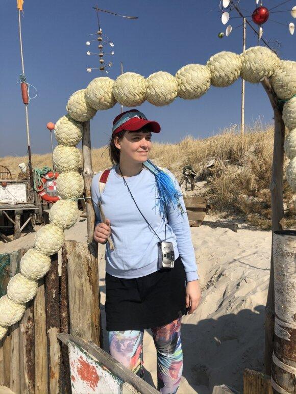 Pajūrio kelyje į Juodkrantę paplūdimyje gali rasti stebuklingų dalykų