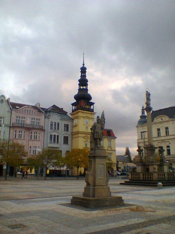 Ostrava, Čekija