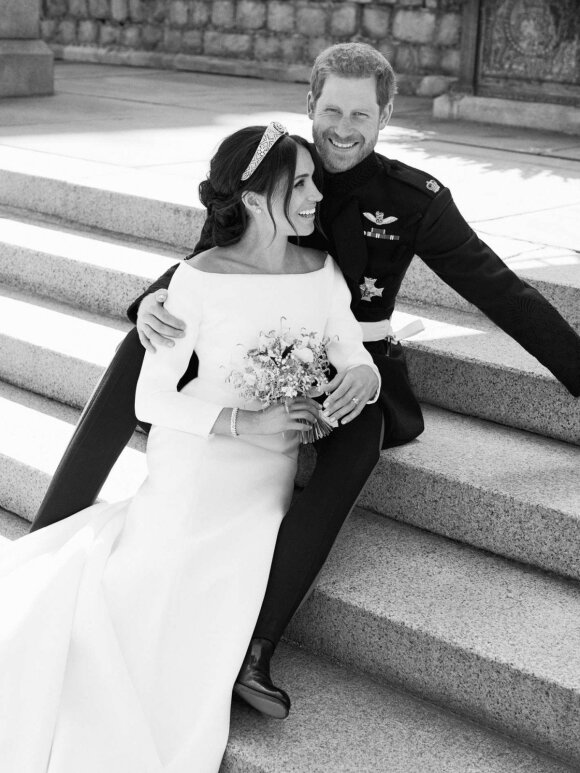 Oficiali princo Harry ir Meghan Markle vestuvių nuotrauka, FOTO: Alexi Lubomirski