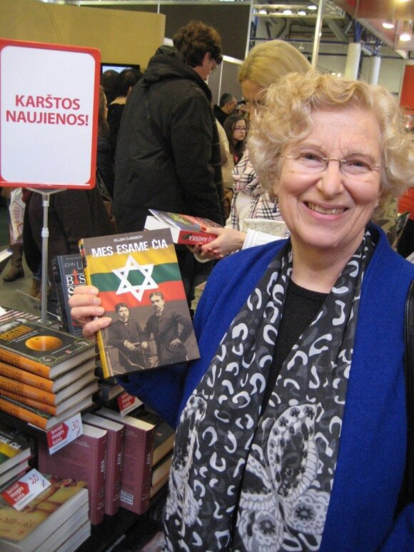 Ellen Cassedy Knygų mugėje