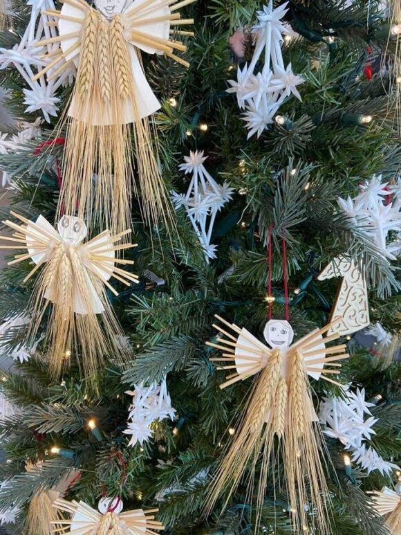 Kalėdinė eglutė Atlantos oro uoste