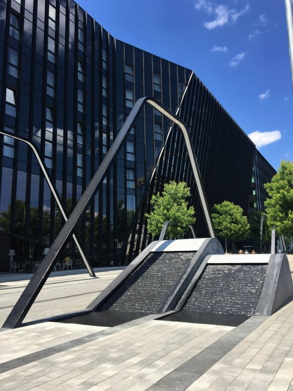 Vilniuje pradėjo veikti 3 nauji fontanai