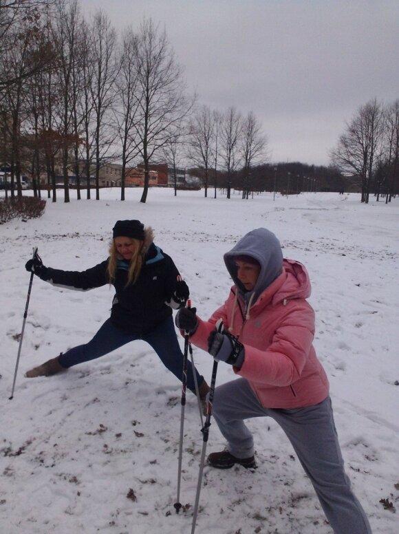 Kaune - vėl nemokamos šiaurietiško ėjimo pamokos