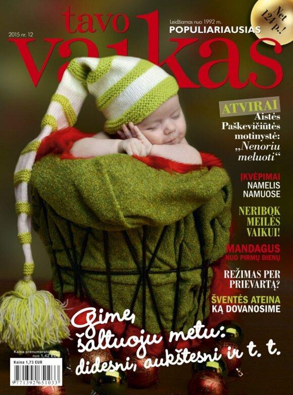 Indrė Stonkuvienė: vaikai į namus grąžina Kalėdas