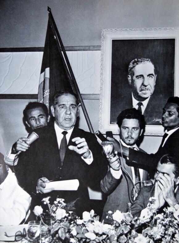 Brazilijos kariuomenės generolas ir diktatorius Arturas da Costa e Silva