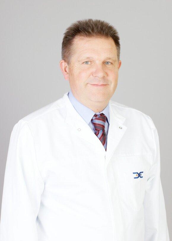 Abdominalinis (pilvo) chirurgas Alfredas Songaila