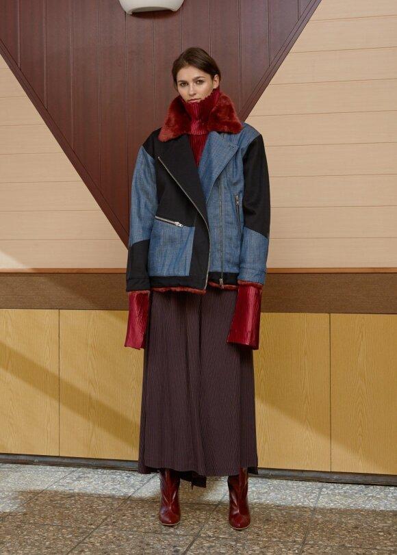 Modernistinę D. EFECT rudens kolekciją įkvėpė dizainerės mamos albume rasta nuotrauka