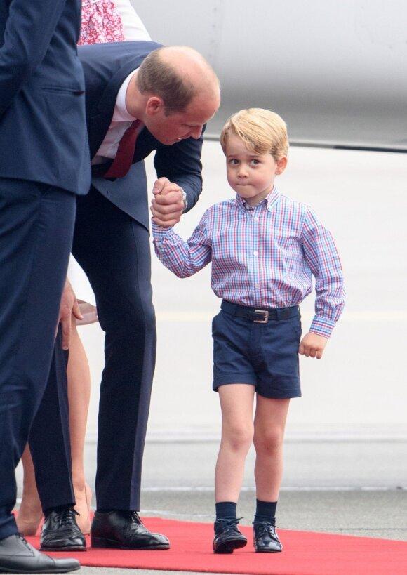 Princas Williamas su sūnumi George'u