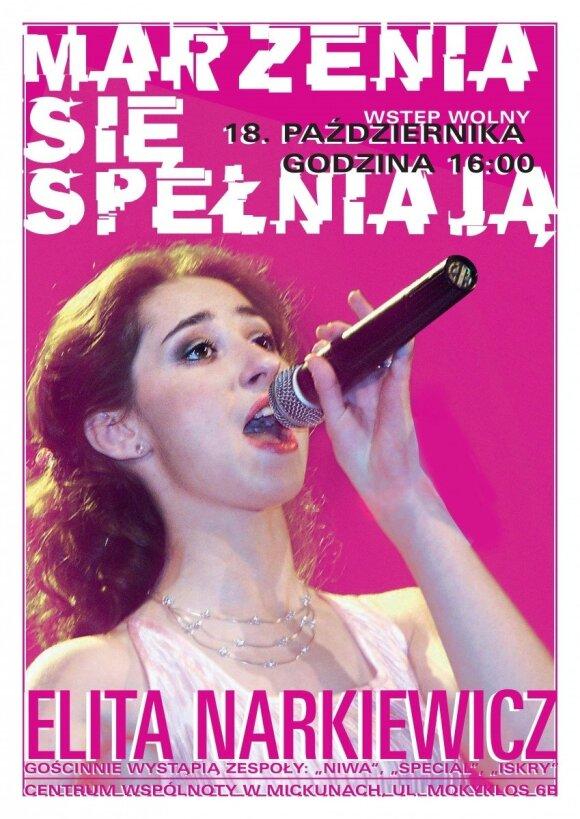 """Recital Elity Narkiewicz """"Marzenia się spełniają"""""""