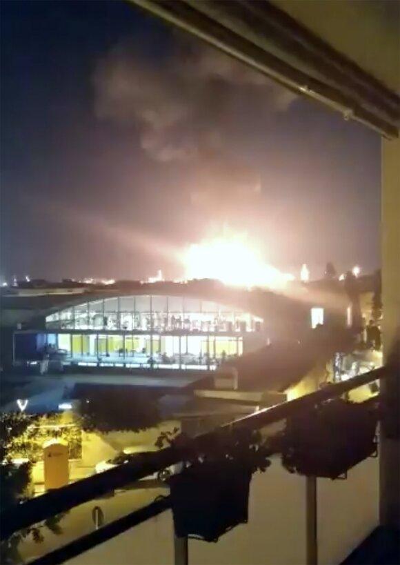 Ispanijoje nugriaudėjo sprogimas