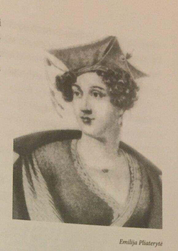"""Emilija Pliaterytė (nuotr. iš A. Butkuvienės knygos """"Garsios Lietuvos moterys"""")"""